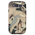 Arte japonés - grúas de Hokusai Samsung Galaxy S3 Funda