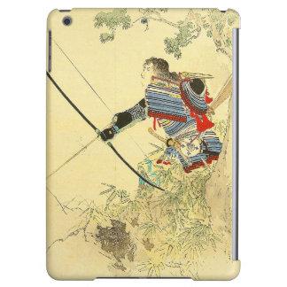 Arte japonés - samurai con un arco y las flechas