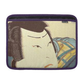 Arte japonés - samurai en el engranaje lleno del fundas macbook air