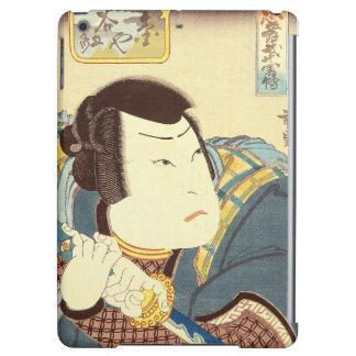 Arte japonés - samurai en engranaje lleno del
