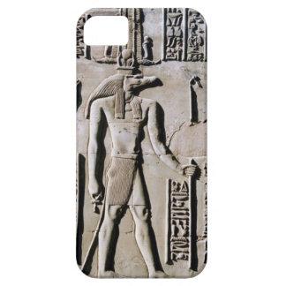 Arte jeroglífico egipcio antiguo del friso de la p iPhone 5 Case-Mate cárcasas