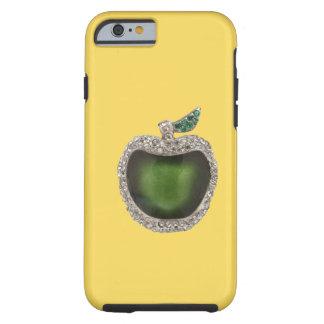 Arte Jeweled del verde de jade Funda De iPhone 6 Tough