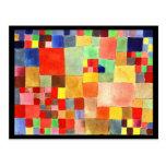 Arte-Klee Postal-Clásico/del vintage 21