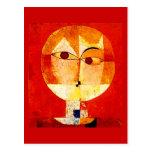 Arte-Klee Postal-Clásico/del vintage 26