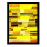 Arte-Klee Postal-Clásico/del vintage 34