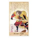 Arte legendario japonés clásico del guerrero del s tarjetas de negocios