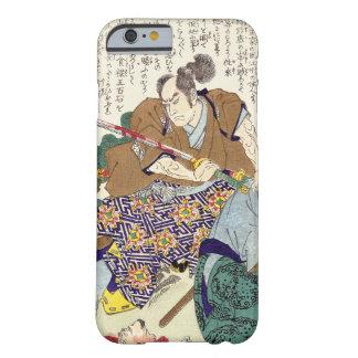 Arte legendario japonés clásico del samurai del funda barely there iPhone 6