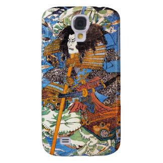 Arte legendario japonés fresco del guerrero de San Funda Para Galaxy S4