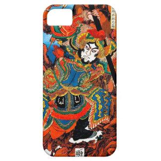 Arte legendario japonés oriental fresco del funda para iPhone SE/5/5s