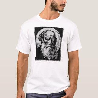 Arte León Tolstói del vector del expresionista Playera