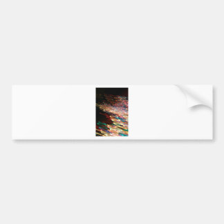 Arte ligero colorido etiqueta de parachoque