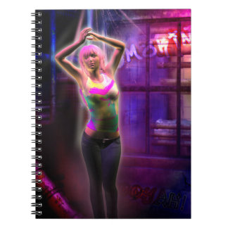 Arte ligero de la fantasía del bailarín 3D Libros De Apuntes