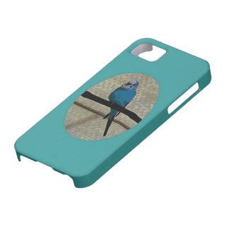 Arte lindo del pájaro del Parakeet iPhone 5 Case-Mate Coberturas