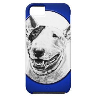 Arte lindo del perro de bull terrier funda para iPhone SE/5/5s