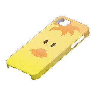 Arte lindo del vector del pollo del bebé iPhone 5 Case-Mate cárcasa