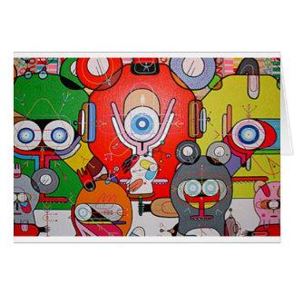 arte loco tarjeta