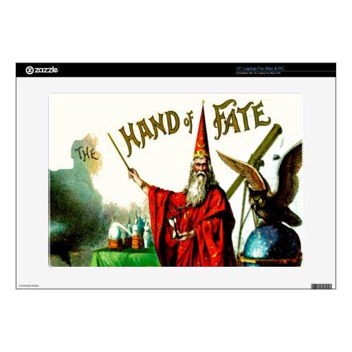 Arte mágico de la etiqueta de Litho del sino de ME Calcomanías Para 38,1cm Portátiles