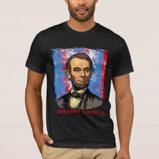 Arte magnífico de Abraham Lincoln Playera