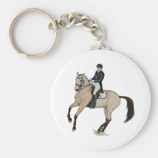 Arte magnífico del caballo del Dressage del ante Llavero Personalizado