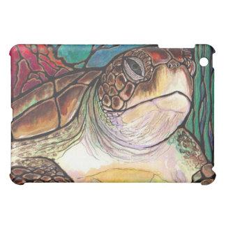 Arte magnífico del estilo del vitral de la tortuga