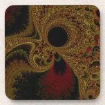 Arte magnífico del fractal del tono de la tierra