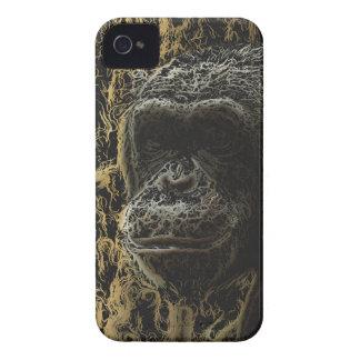 Arte magnífico del mono iPhone 4 cárcasas