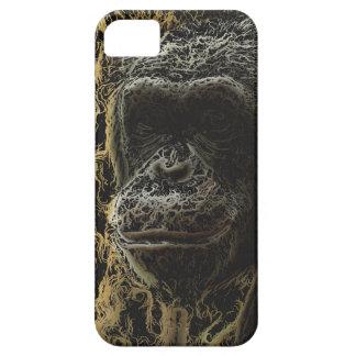 Arte magnífico del mono iPhone 5 carcasa