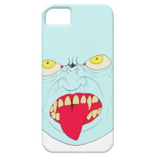 Arte malvado de la cabeza del vampiro iPhone 5 Case-Mate cárcasa
