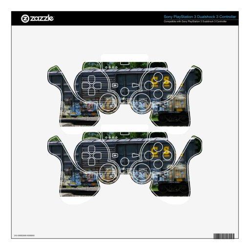 Arte marcado con etiqueta furgón mando PS3 skins
