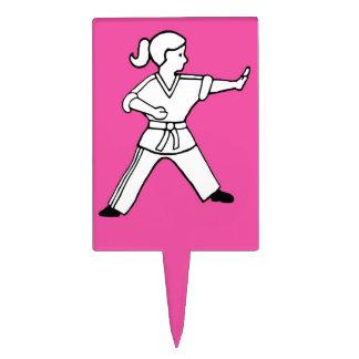 Arte marcial de la torta de Karate Kid 12 del prim Figura De Tarta