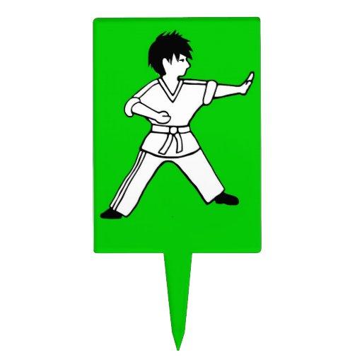 Arte marcial de la torta de Karate Kid 7 del prime Decoración Para Tarta