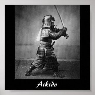 Arte marcial japonés del Aikido Impresiones