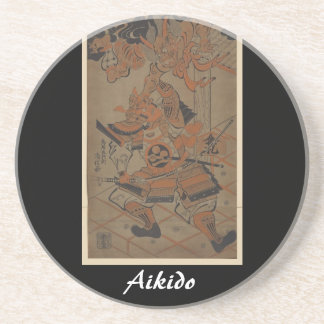 Arte marcial japonés del Aikido Posavaso Para Bebida