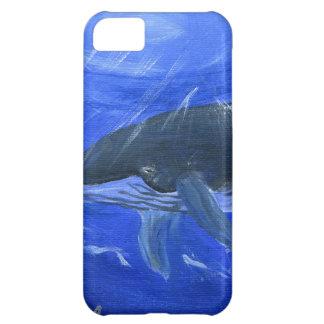 Arte marino Gunilla Wachtel de la ballena jorobada
