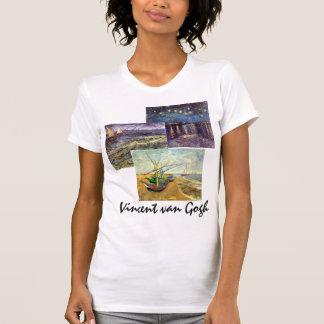 arte marítimo de diverso Vincent van Gogh vintage Camiseta
