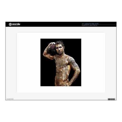 Arte masculino gay desnudo atractivo portátil skin