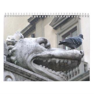 Arte medieval de Europa Calendario De Pared