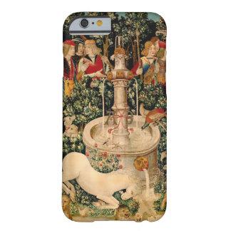 Arte medieval de las tapicerías del unicornio funda para iPhone 6 barely there
