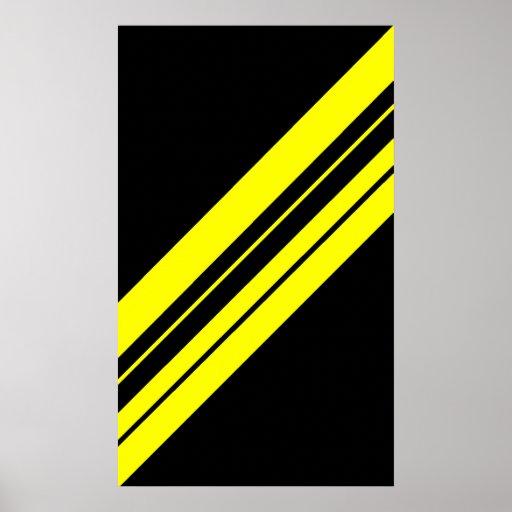 Arte minimalista amarillo de 45 grados