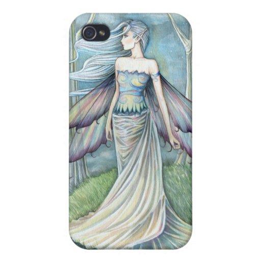 Arte místico de hadas de la fantasía de la eternid iPhone 4/4S funda
