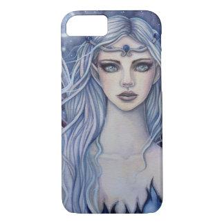 Arte místico de hadas de la fantasía del zafiro funda iPhone 7