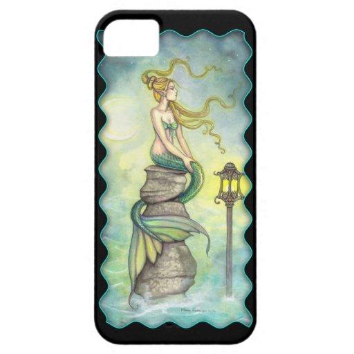 Arte místico de la fantasía de la sirena y de la iPhone 5 funda