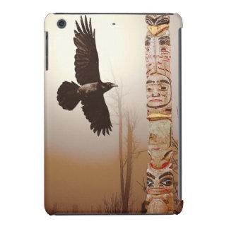 Arte místico del cuervo y del Cuervo-amante del Funda De iPad Mini