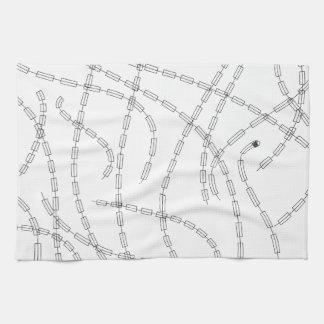 Arte moderno - cadena toalla de cocina
