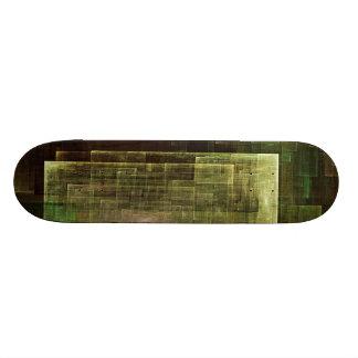 Arte moderno de la pared tabla de skate