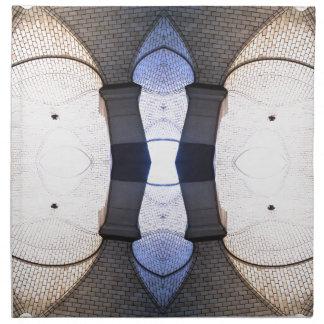 Arte moderno de los puntos de vista urbanos servilletas