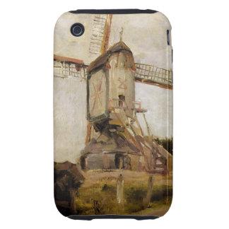 Arte moderno de Piet Mondrian Tough iPhone 3 Cárcasa