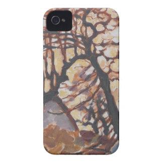 Arte moderno de Piet Mondrian iPhone 4 Case-Mate Cárcasa