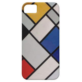 Arte moderno de Piet Mondrian iPhone 5 Case-Mate Cobertura