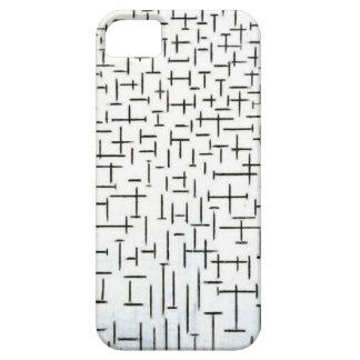 Arte moderno de Piet Mondrian iPhone 5 Case-Mate Carcasas